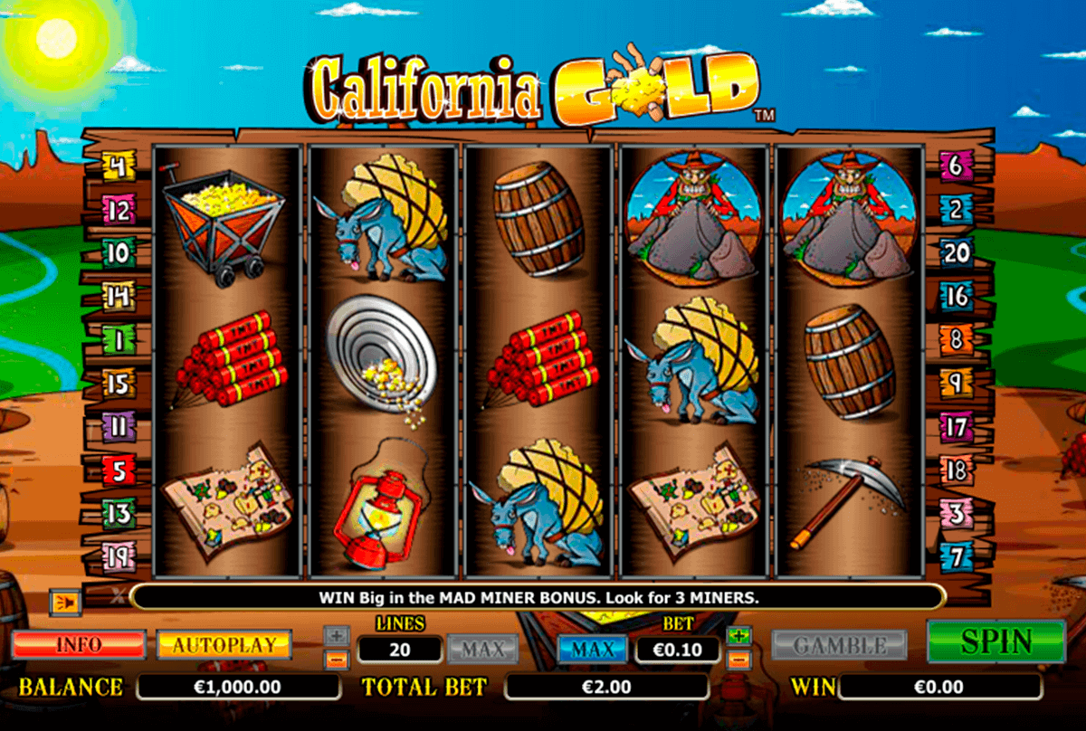 california gold netgen gaming