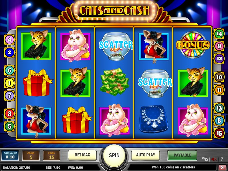 cats and cash slot gs