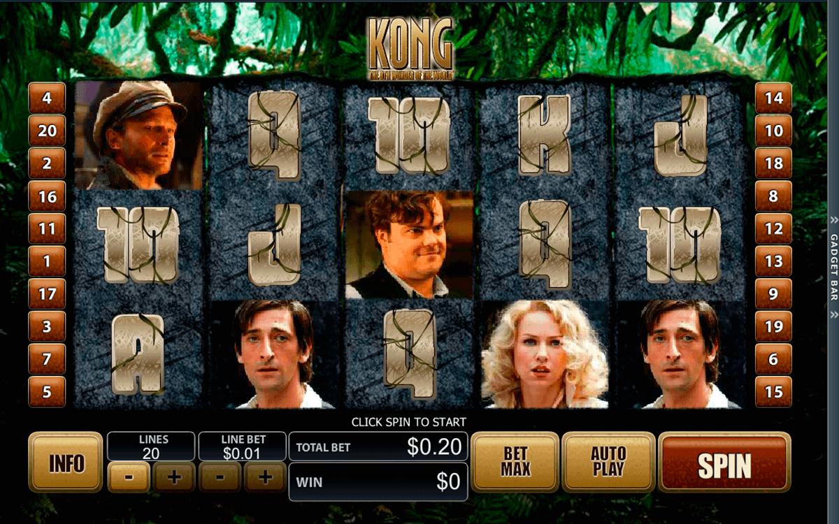 king kong playtech free slot